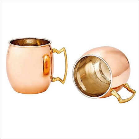 Copper Moscow Mule Mug Nickel Lining