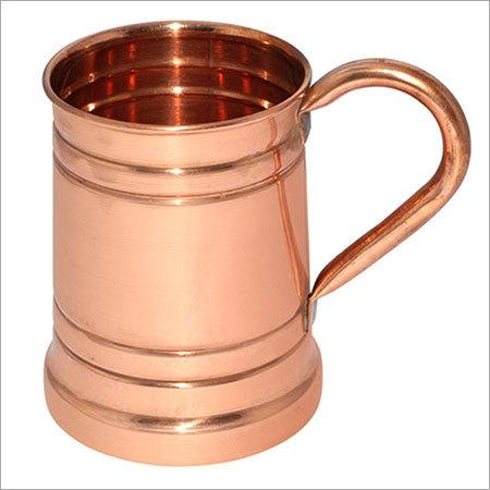 Solid Copper Standard Tankard Moscow Mule Mug
