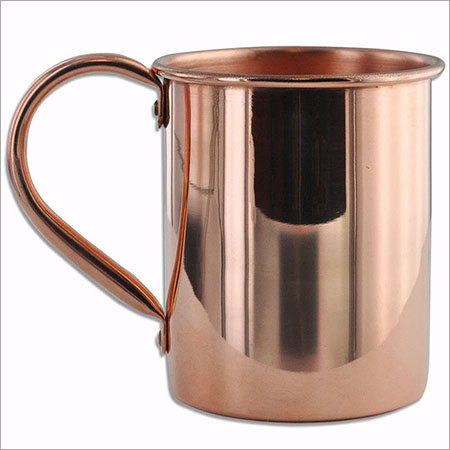 Riveted Handle Pure Copper Moscow Mule Mug