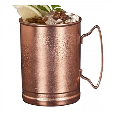 Pure Solid Copper Moscow Mule Mug