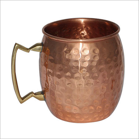Hammered Solid Copepr Moscow Mule Mug
