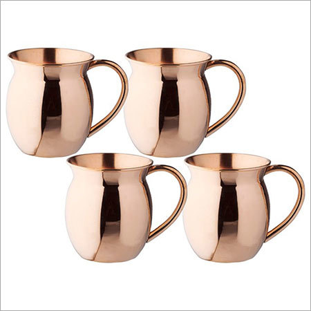 Moscow Mule Solid 100 % Pure Copper Unlined Mug