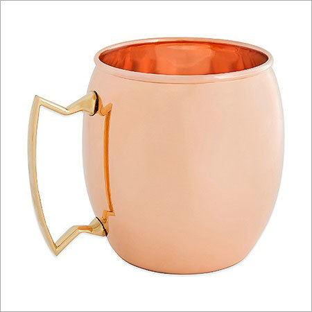 Smooth Moscow Mule Pure Copper Mug