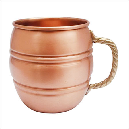 Pure Copper Moscow Mule Mug NO INNER LINING OR COATING