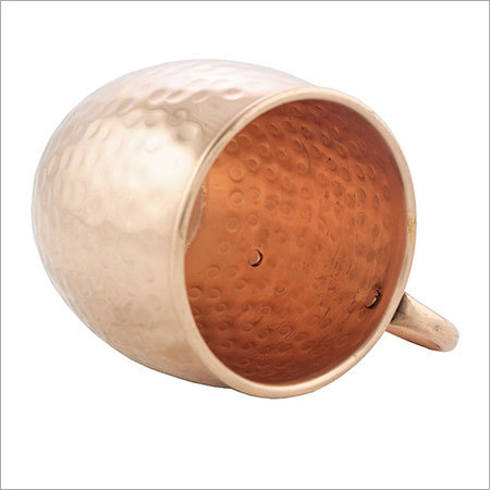 Pure Copper 16 Oz Moscow Mule Hammered Mug