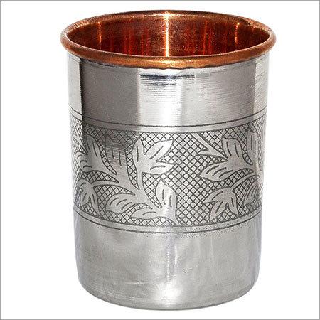 Copper Tumbler with design