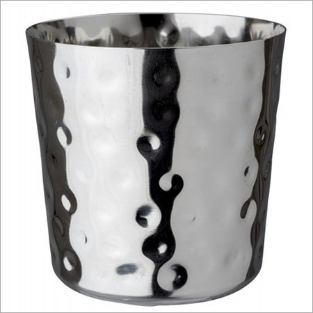Stainless Steel Hammered Tumbler