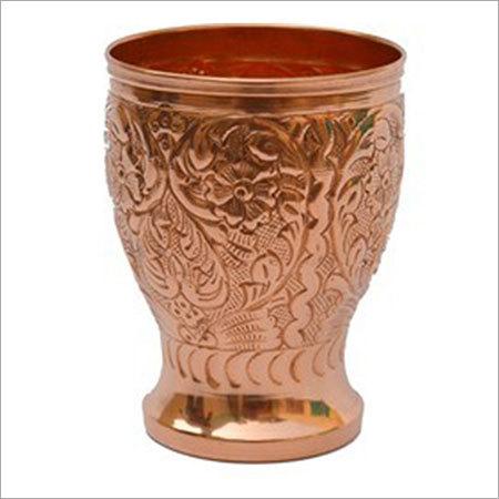 Designer Copper Cup Tumbler