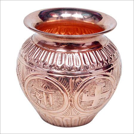 Antique Copper Pooja Kalash