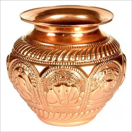 Decorative Copper Pooja Kalash