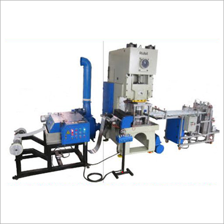 Two Cavity Aluminium Foil Container Making Machine