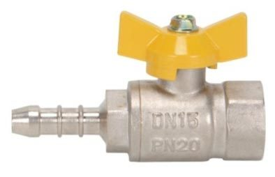 Male Threaded Gas Valve