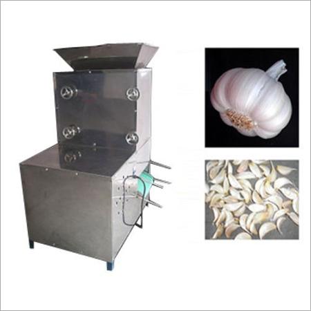 Garlic Depoding Machine