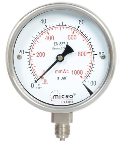 Capsule Low Pressure Gauge