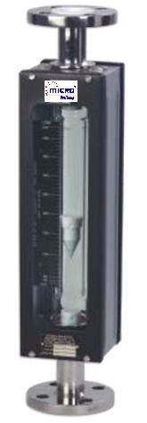 Glass tube Rota meter