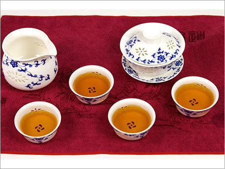 Qing Hua Porcelain Tea Set