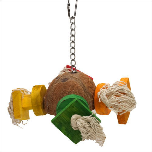 Coco Satellite Block Hanging Birds Toy