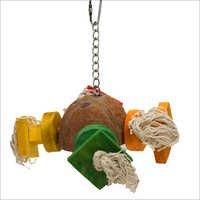 Coco Satellite Block Hanging Birds Toy