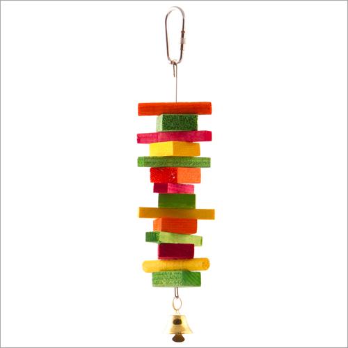 Stacked Log Bird Toys