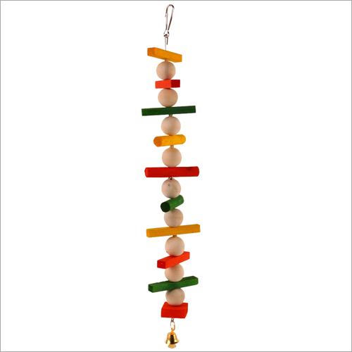 Wooden Tong Bell Bird Toys