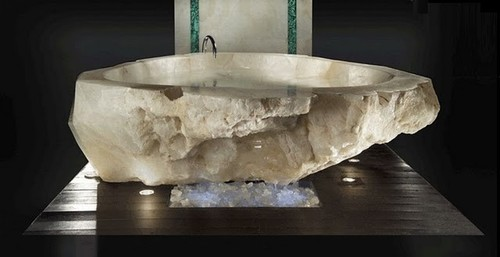 Crystal Quartz Bath Tub