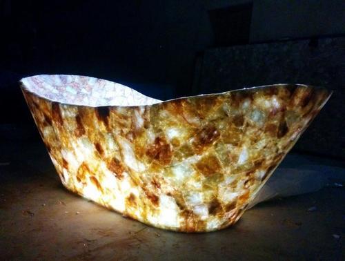 Golden Quartz Bath Tubs