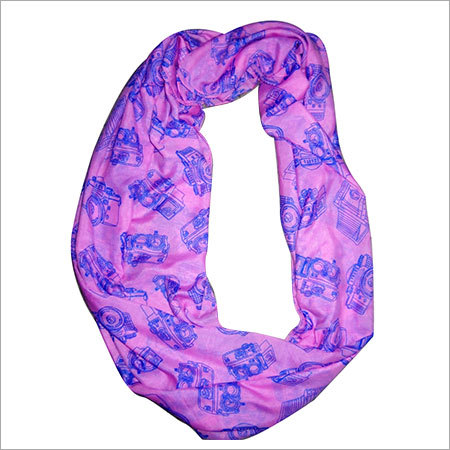 100% Polyester Printed Beach Scarf
