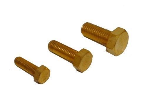 Brass Hex Bolts