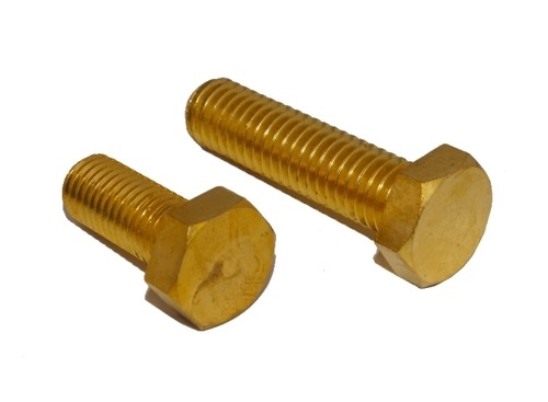 Brass Hex Head Bolts