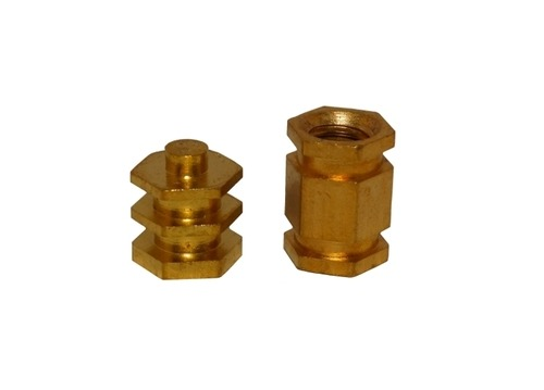 Brass Hex Moulding Inserts