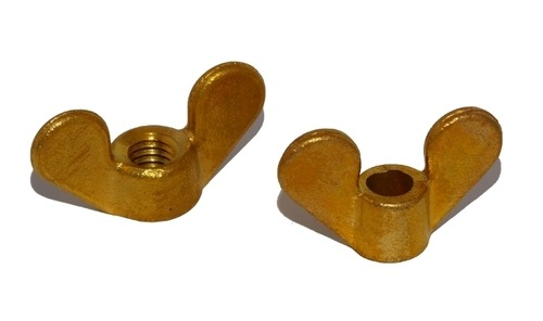 Forged Brass Wing Nut