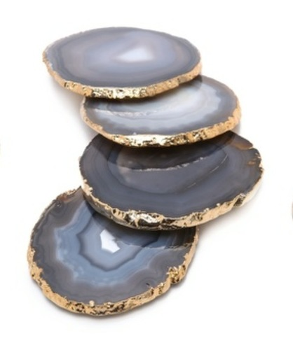 Grey Agate Coaster