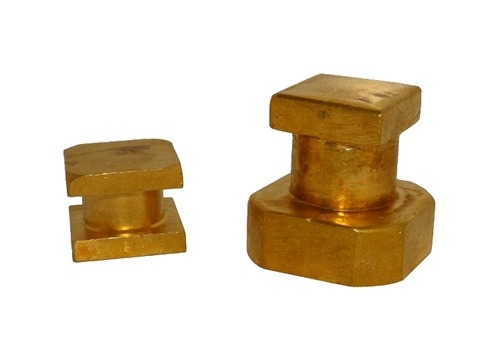 Brass Square Bush