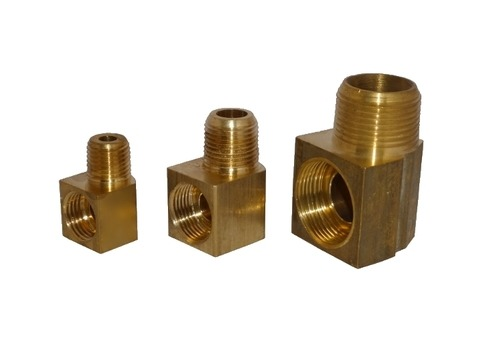 Brass Air Compressor Elbow