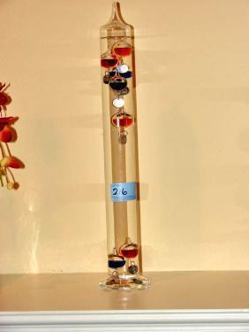 Glass Temperature Gauge
