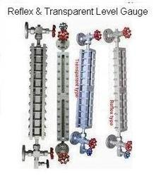 Reflex And Transparent Level Gauge