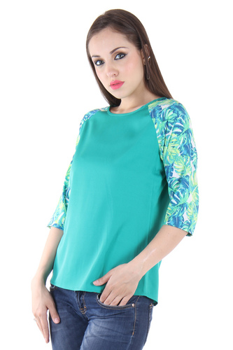 Cotton Printed Top