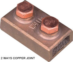 2 WAYS COPPER JOINT
