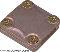 4 WAYS COPPER JOINT