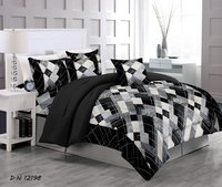 Satin Stripes Bedsheet