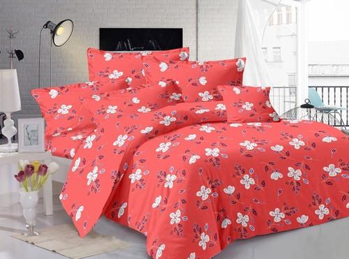 Satin stripes plain bed sheets