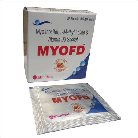 Myo Inositol, L-Methyl Folate & Vitamin D3 Sachet