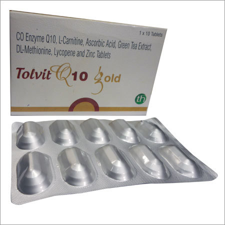 Co-Enzyme Q10,Green tea ExtractTablets