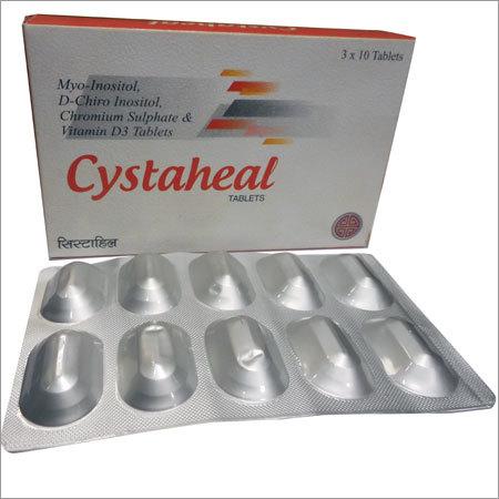 Myo Inositol, D-Chiro Inositol Tablets