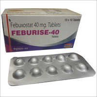 Febuxostat 40mg. tablets