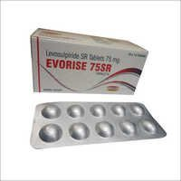 Levosulpiride SR Tablets 75 mg.