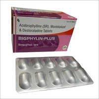 Acebrophylline (SR),Montelukast & Desloratadine