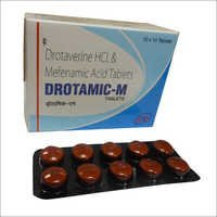 Drotaverine HCI .& Mefenamic Acid Tablets