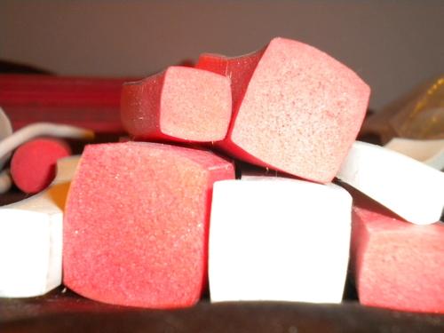 Square Silicone Rubber Sponge