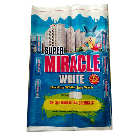 Snow White Lime Powder